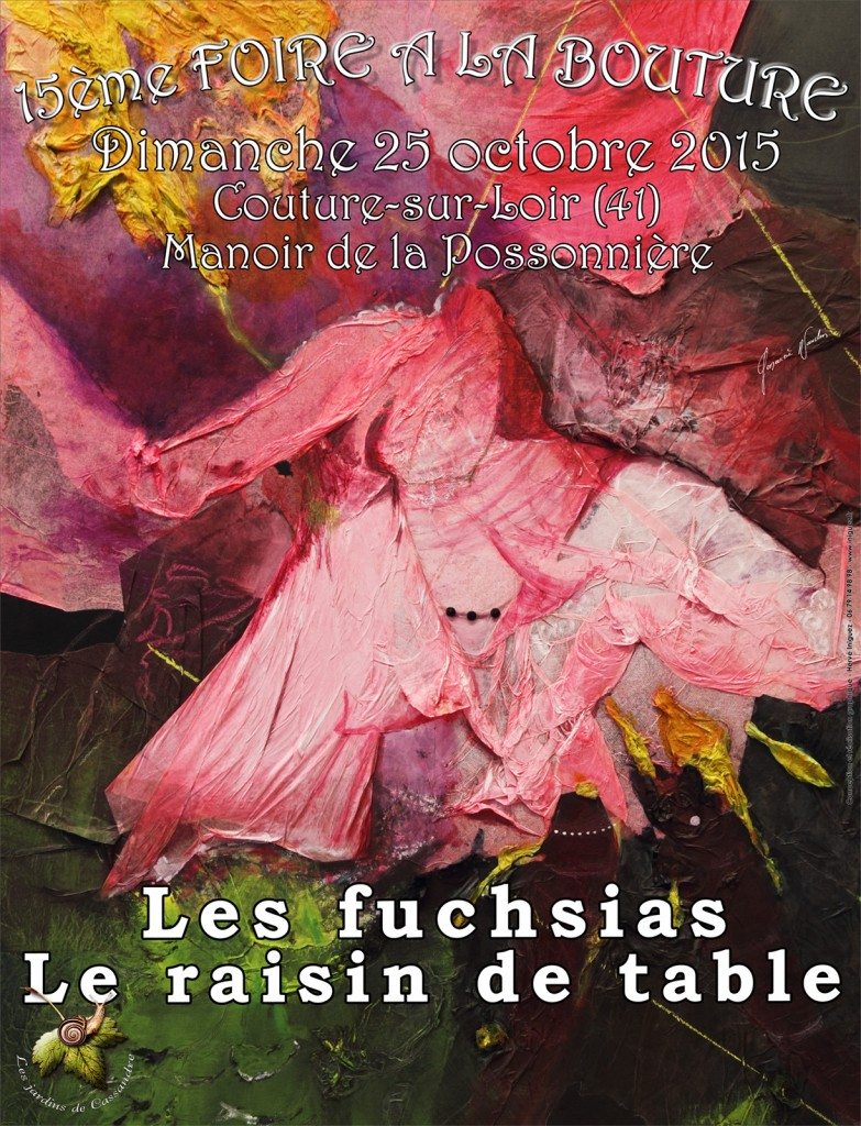 Foire à la Bouture 2015 : affiche